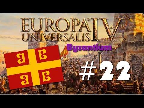 """Let's Play: Europa Universalis IV: Byzantium - Ep 22 """"Buying Provinces"""""""