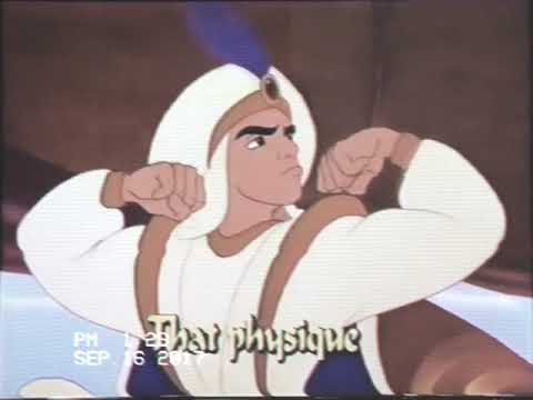 Disney Sing Along Songs Aladdin Prince Ali VHS 1995