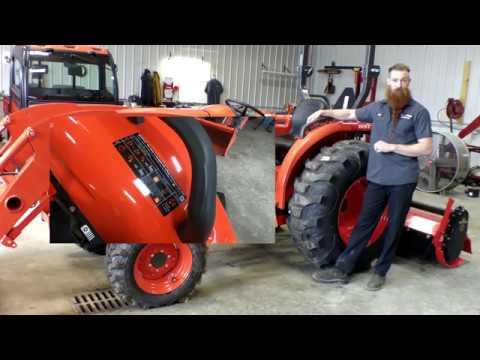 Kubota Tractor Diesel Particulate Filter (DPF) Regen Process