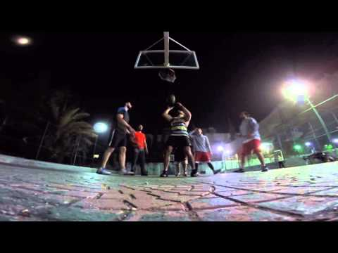 Basketball in Damascus, Syria -GoPro-