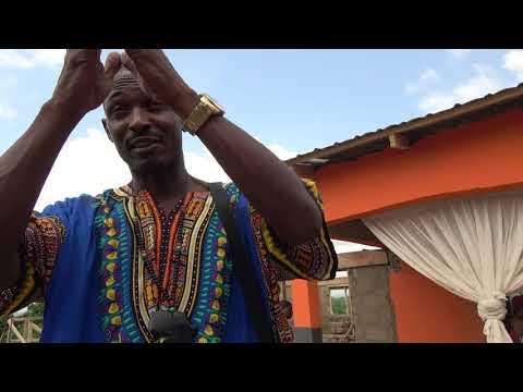 Lil Bomani Recording Fundraiser at Trinity Home Foundation - Ghana Nov 2017