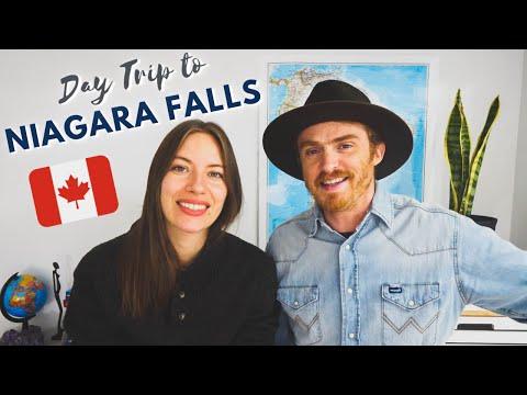 NIAGARA FALLS Day Trip from Toronto 🇨🇦 + Wine Tasting in NIAGARA VINEYARDS at Niagara on the Lake 🍇