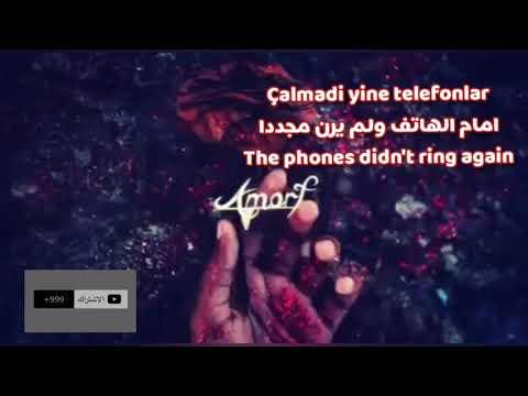Anlasana Amorf Turkish Lyrics English Subtitled Youtube