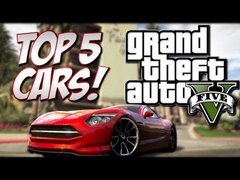 "GTA 5 - Top 5 Cars (Grand Theft Auto 5 ""Best"" Cars)"