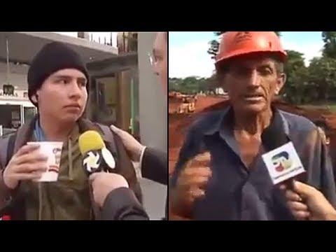 Las 7 entrevistas mas chistosas y chuscas de  l Tops Al Chile!