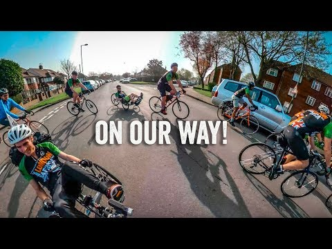 Attempting to Cycle London to Africa - Day 1