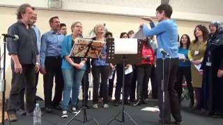 Slough Celebration of World Mental HEalth Day 2016 One Voice Staff Choir 3