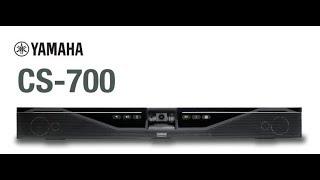 Yamaha CS-700 AV Video Sound-bar Conferencing System Review