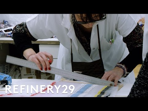How a Dior Dress is Made | Fashion | Refinery29