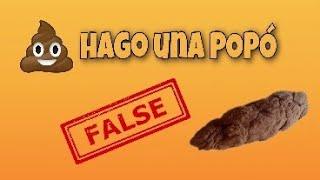 Hago una POPÓ 💩 FALSA- Broma|Diversiones y Experimentos
