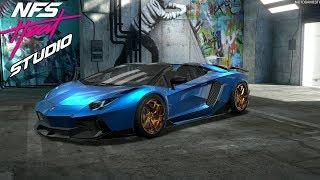 NFS Heat Studio - Lamborghini Aventador S Roadster Customization