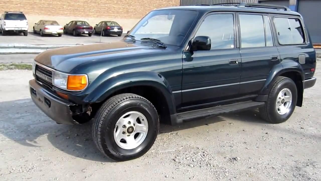 Wonderful 1993 Toyota Land Cruiser For Sale Chicago   YouTube