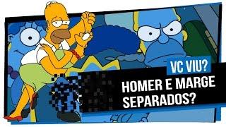 Homer Simpson vai se separar da Marge