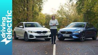 BMW 330e vs Volvo S60 T8 – DrivingElectric