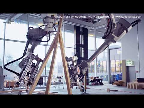 Timber Frame Construction, By Robots | The B1M