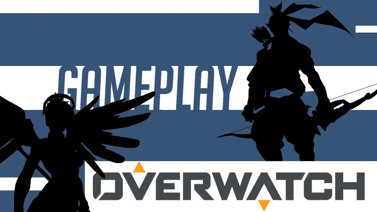 Overwatch Gameplay [German] (HD) Ich spiele Hanzo und Mercy