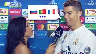 How many languages does Cristiano Ronaldo speak Oh My Goal