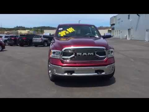 dodge ram  laramie limited crew cab  eco diesel loaded options youtube