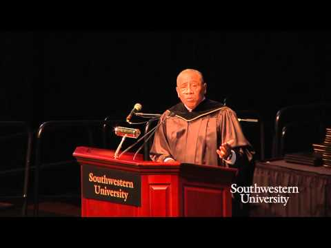 Southwestern University Commencement Address 2015