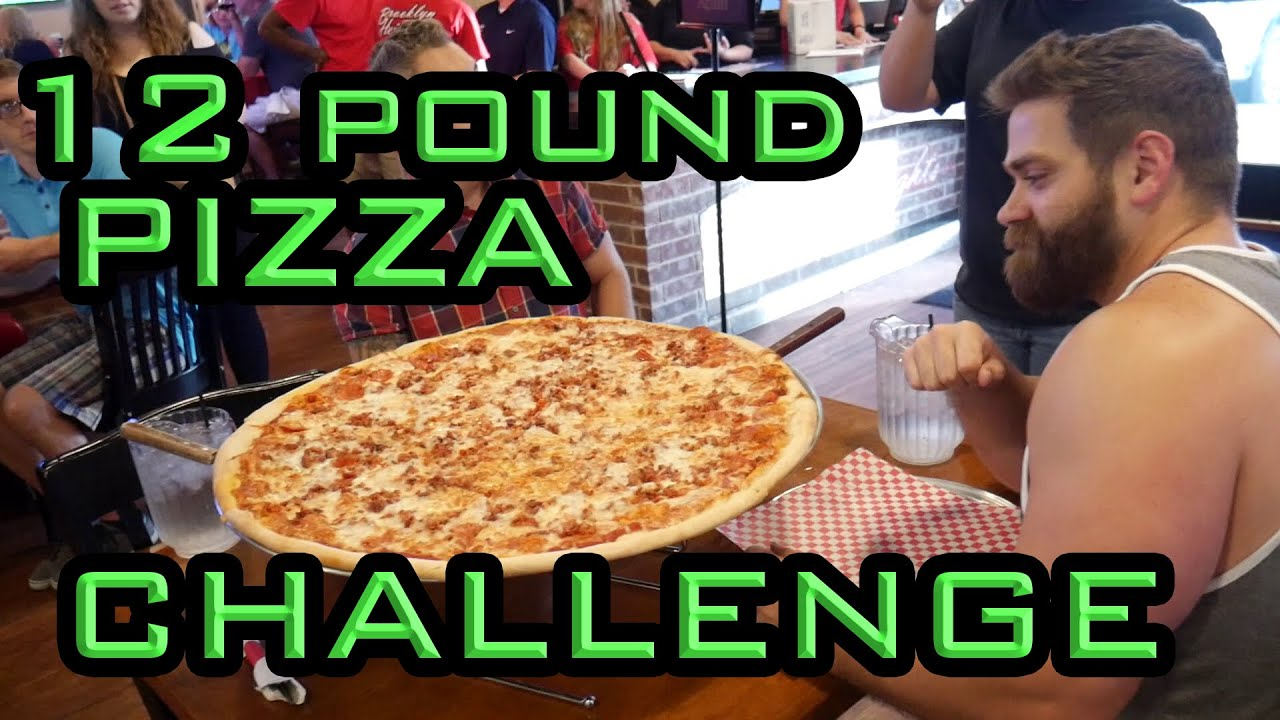 12 pound pizza brooklyn heights pizza challenge youtube. Black Bedroom Furniture Sets. Home Design Ideas