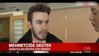 SANATÇILAR MEHMETÇİĞE DESTEK İÇİN SINIRDA , Mustafa Ceceli , Tamer Karadağlı , Volkan Severcan