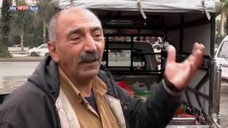 سكان دمشق يبحثون عن الماء