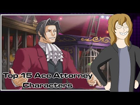 Top 15 Ace Attorney Characters Turnabout Robin Youtube