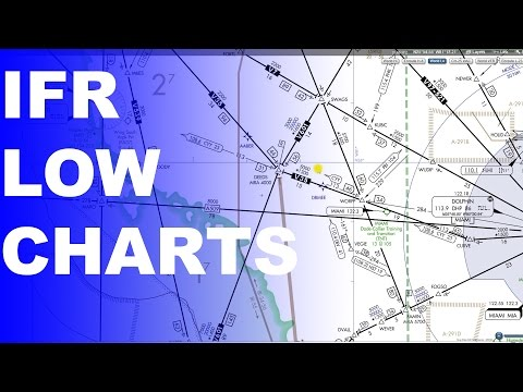 Ep. 201: IFR Low Enroute Charts Explained | Basics Part 1
