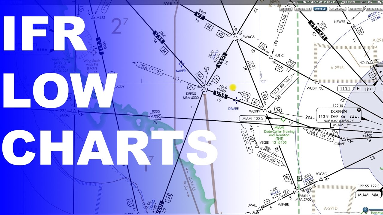 Ep  201: IFR Low Enroute Charts Explained | Basics Part 1