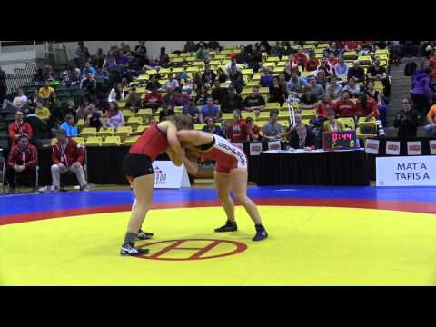 2015 CIS Championships: 82 kg Final Holly Ellsworth-Clark vs. Kelsey Gsell