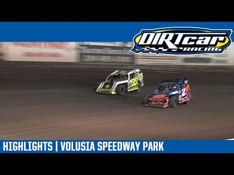 DIRTcar Modifieds Volusia Speedway Park February 7, 2019 | HIGHLIGHTS