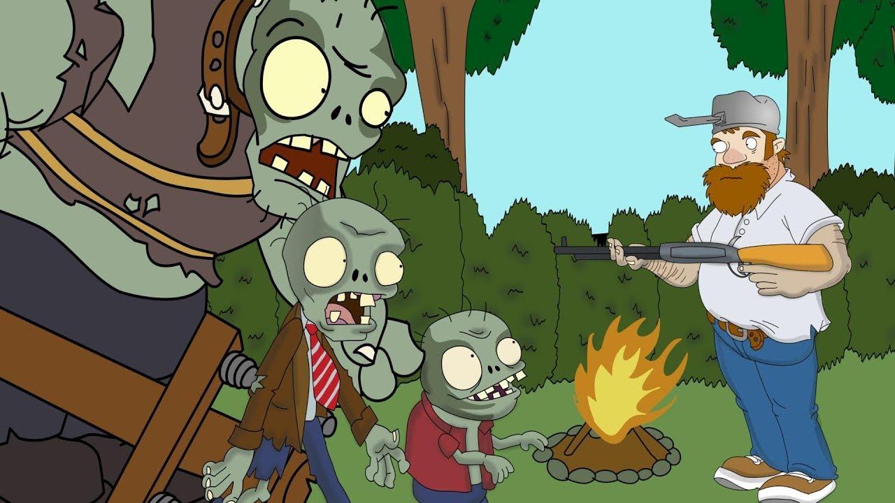 Plants Vs Zombies Animation Zombie Life Cartoon Youtube