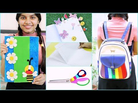 4 Cool DIY School Supplies | #Teenagers #Crafts #Hacks #Anaysa #DIYQueen