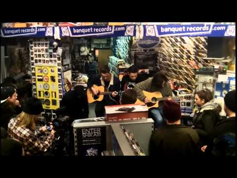 Boston Manor in-store at Banquet Records