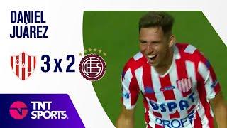 """El """"Pajarito"""" Juárez anotó su primer gol en la Liga Profesional"""