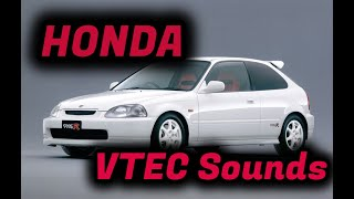 【HONDA】VTEC Sounds集【ヘッドホン推奨】