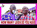 HOW MANY LEGS DO HUMANS HAVE | Teacher Mpamire on the street | Latest African Comedy July 2020