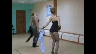 """""""Танец с тростью"""". ТШ """"Пируэт""""."""