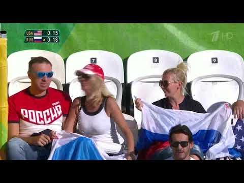 Beach Volleyball Women's Russia X Usa Rio 2016