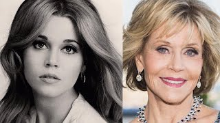 Jane fonda. how does she look so good at her age?