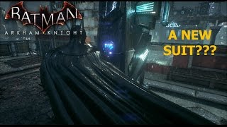 Batman Arkham Knight: A new suit?