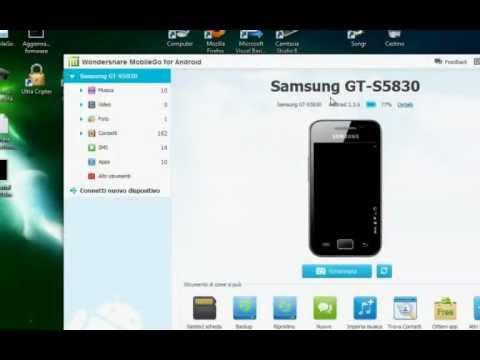 Gestire File Di Uno Smartphone Android Da PC Con MobileGo - Tutorial ITA