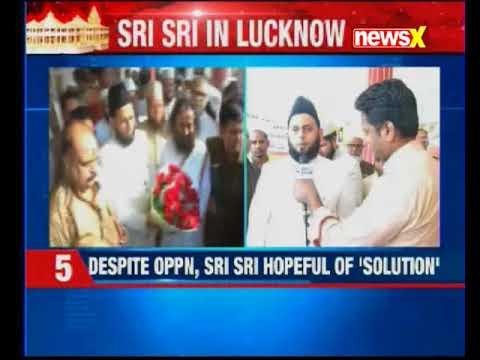 Ram Mandir dispute: A day after Ayodhya visit, Sri Sri Ravi Shankar in Lucknow