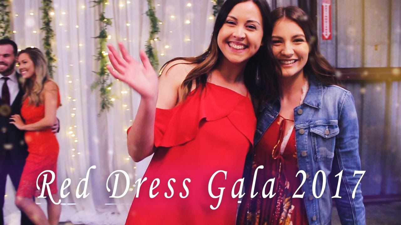 8d79d913678 Alpha Phi Red Dress Gala 2017 - YouTube