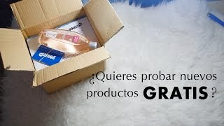 ¡Consigue productos GRATIS sin ser YOUTUBER! + Unboxing || Superate