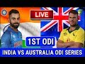 LIVE SCORE I Australia vs India 1st ODI match 2019 live Streaming I Aus vs Ind