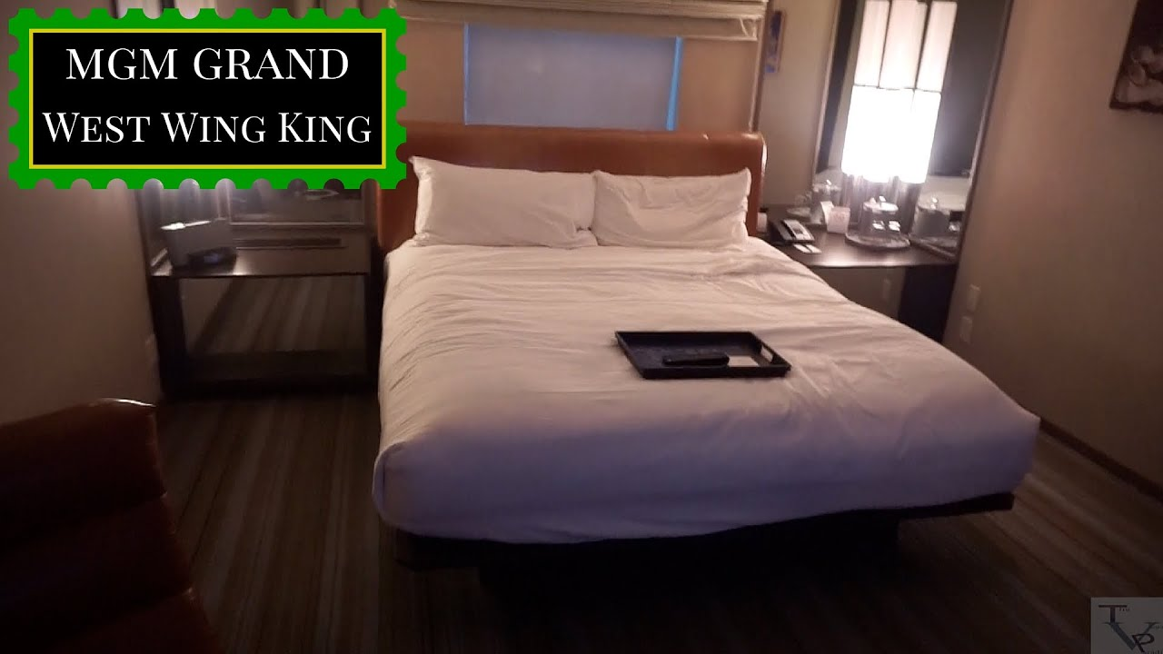 Mgm Grand Las Vegas West Wing King Youtube