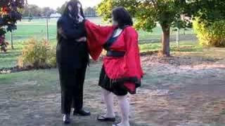 Bancoran & The Geisha Girl dance to DISTURBIA