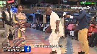 Spiritual Idol In Human Form Caught Dancing In Synagogue Church - Prophet T. b Joshua