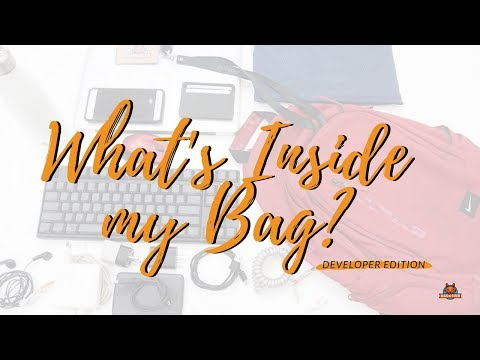What's in a Developer's Bag? (INDONESIA)